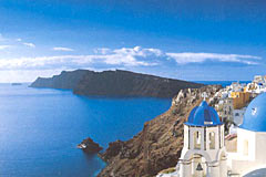 visit santorini with a greek island cruise - cruise destination